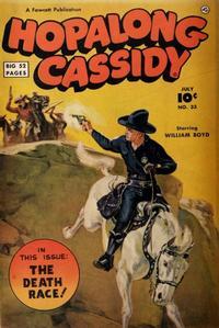 Cover for Hopalong Cassidy (Fawcett, 1946 series) #33