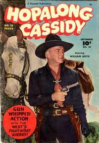 Cover Thumbnail for Hopalong Cassidy (Fawcett, 1946 series) #35
