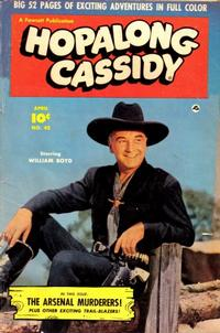 Cover Thumbnail for Hopalong Cassidy (Fawcett, 1946 series) #42
