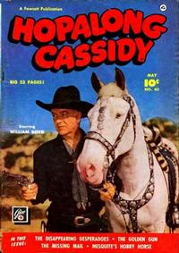 Cover for Hopalong Cassidy (Fawcett, 1946 series) #43