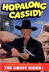 Cover Thumbnail for Hopalong Cassidy (Fawcett, 1946 series) #44