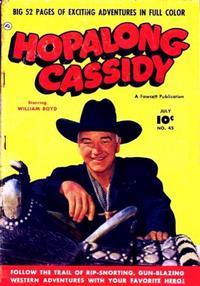 Cover Thumbnail for Hopalong Cassidy (Fawcett, 1946 series) #45