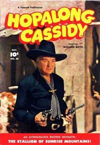 Cover Thumbnail for Hopalong Cassidy (Fawcett, 1946 series) #48