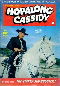Cover Thumbnail for Hopalong Cassidy (Fawcett, 1946 series) #50