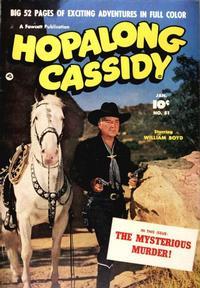 Cover Thumbnail for Hopalong Cassidy (Fawcett, 1946 series) #51