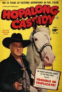Cover Thumbnail for Hopalong Cassidy (Fawcett, 1946 series) #53