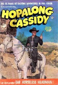 Cover Thumbnail for Hopalong Cassidy (Fawcett, 1946 series) #54