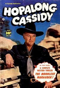 Cover for Hopalong Cassidy (Fawcett, 1946 series) #55