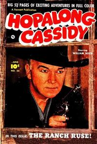 Cover Thumbnail for Hopalong Cassidy (Fawcett, 1946 series) #56