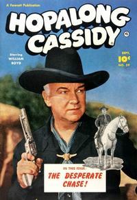 Cover Thumbnail for Hopalong Cassidy (Fawcett, 1946 series) #59