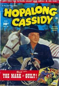 Cover for Hopalong Cassidy (Fawcett, 1946 series) #65