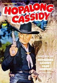 Cover Thumbnail for Hopalong Cassidy (Fawcett, 1946 series) #66