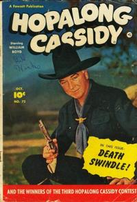 Cover Thumbnail for Hopalong Cassidy (Fawcett, 1946 series) #72