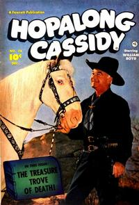 Cover for Hopalong Cassidy (Fawcett, 1946 series) #74