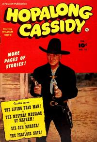 Cover for Hopalong Cassidy (Fawcett, 1946 series) #76
