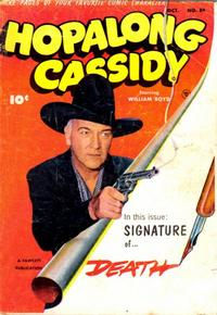 Cover Thumbnail for Hopalong Cassidy (Fawcett, 1946 series) #84