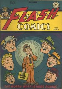 Cover Thumbnail for Flash Comics (DC, 1940 series) #76