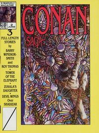 Cover Thumbnail for Conan Saga (Marvel, 1987 series) #2 [Direct]