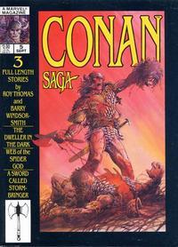 Cover Thumbnail for Conan Saga (Marvel, 1987 series) #5 [Direct]