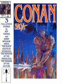 Cover Thumbnail for Conan Saga (Marvel, 1987 series) #7