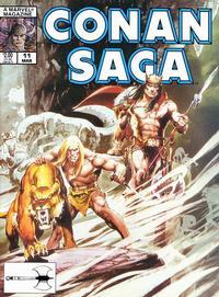 Cover Thumbnail for Conan Saga (Marvel, 1987 series) #11