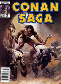 Cover Thumbnail for Conan Saga (Marvel, 1987 series) #15