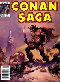 Cover Thumbnail for Conan Saga (Marvel, 1987 series) #16