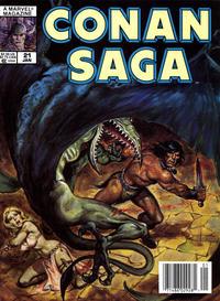 Cover Thumbnail for Conan Saga (Marvel, 1987 series) #21