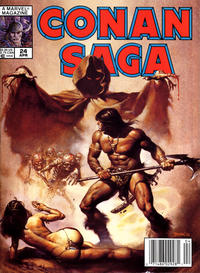 Cover Thumbnail for Conan Saga (Marvel, 1987 series) #24