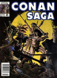 Cover Thumbnail for Conan Saga (Marvel, 1987 series) #25