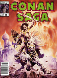 Cover Thumbnail for Conan Saga (Marvel, 1987 series) #26