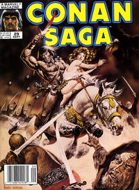 Cover Thumbnail for Conan Saga (Marvel, 1987 series) #29