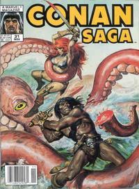 Cover Thumbnail for Conan Saga (Marvel, 1987 series) #31