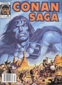 Cover Thumbnail for Conan Saga (Marvel, 1987 series) #33