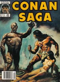 Cover Thumbnail for Conan Saga (Marvel, 1987 series) #35