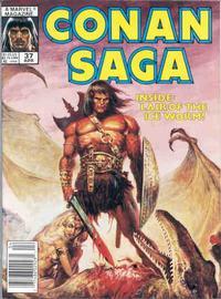 Cover Thumbnail for Conan Saga (Marvel, 1987 series) #37