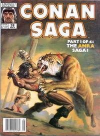 Cover Thumbnail for Conan Saga (Marvel, 1987 series) #38