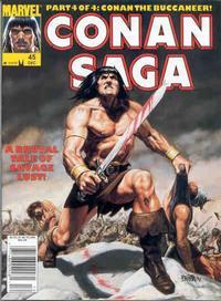 Cover Thumbnail for Conan Saga (Marvel, 1987 series) #45