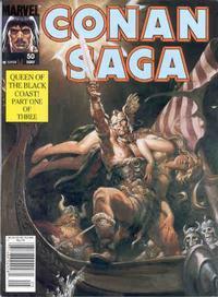 Cover Thumbnail for Conan Saga (Marvel, 1987 series) #50