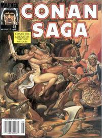 Cover Thumbnail for Conan Saga (Marvel, 1987 series) #53
