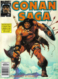 Cover Thumbnail for Conan Saga (Marvel, 1987 series) #56