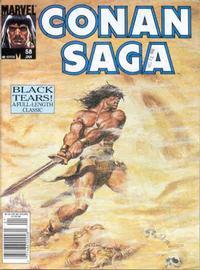 Cover Thumbnail for Conan Saga (Marvel, 1987 series) #58