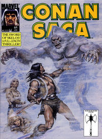 Cover Thumbnail for Conan Saga (Marvel, 1987 series) #61