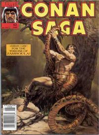 Cover Thumbnail for Conan Saga (Marvel, 1987 series) #63