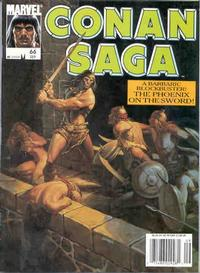 Cover Thumbnail for Conan Saga (Marvel, 1987 series) #66