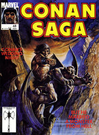 Cover Thumbnail for Conan Saga (Marvel, 1987 series) #68