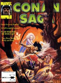 Cover Thumbnail for Conan Saga (Marvel, 1987 series) #70