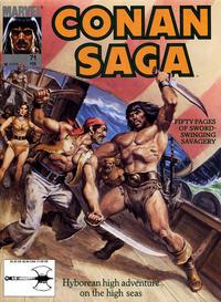 Cover Thumbnail for Conan Saga (Marvel, 1987 series) #71