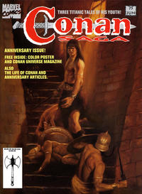 Cover Thumbnail for Conan Saga (Marvel, 1987 series) #75