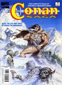 Cover Thumbnail for Conan Saga (Marvel, 1987 series) #76